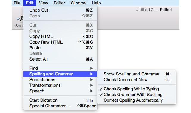 how do i create a document on a mac