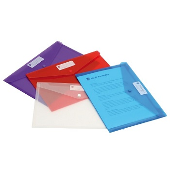 officemax manilla board document wallet 30mm gusset foolscap blue