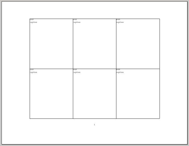 how to divide a word document into 4 equal sections