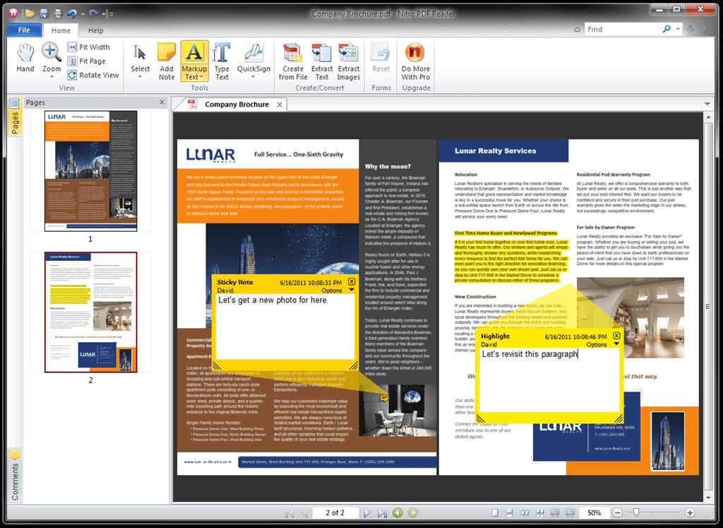 rotating pdf document in adobe reader