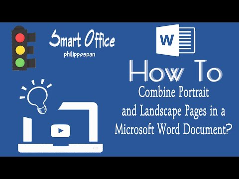 how do i combine a pdf and word document