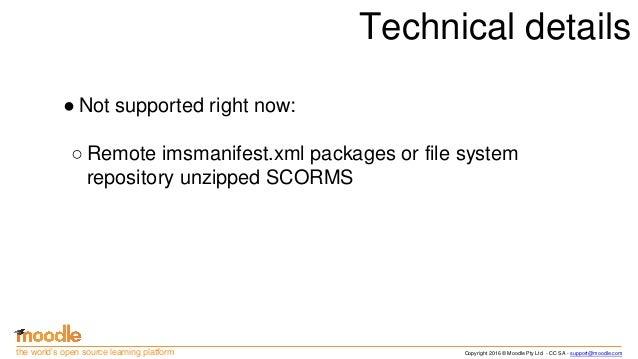 scorm 1.2 documentation