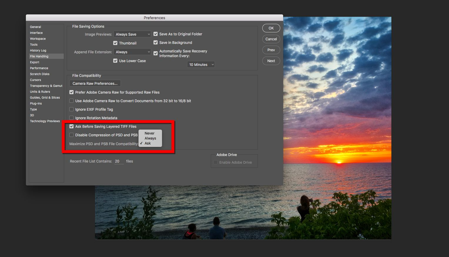 how to export photoshop to word document