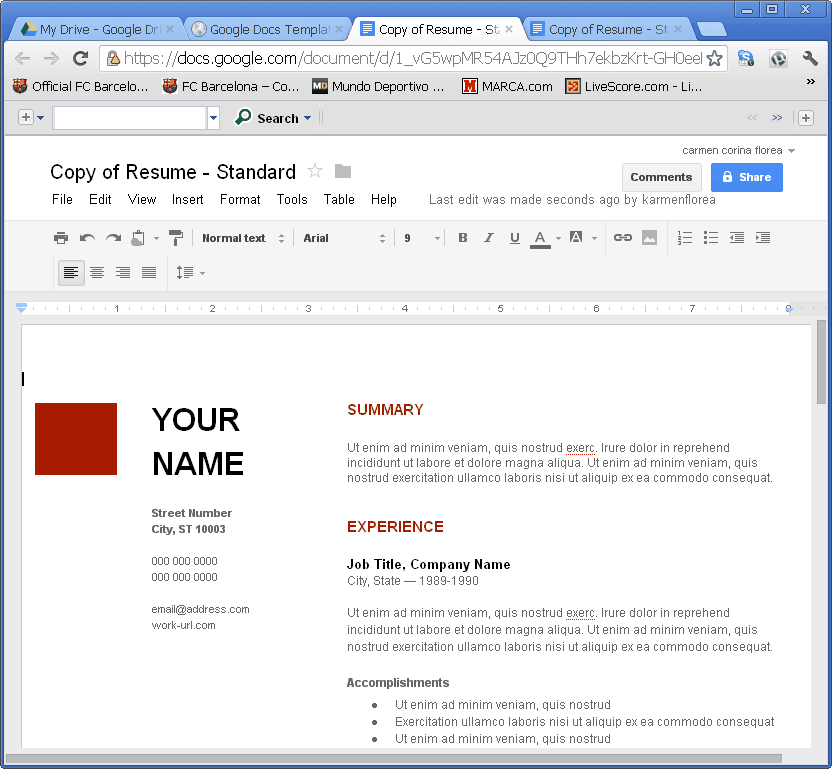 how to email document from google drive