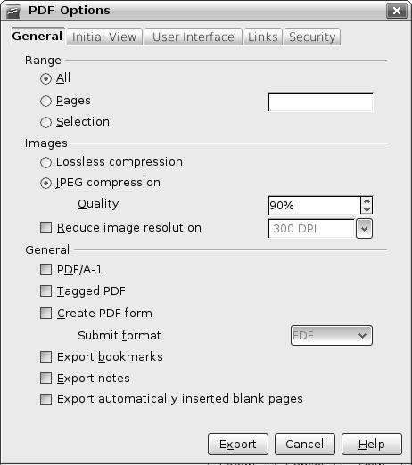 convert openoffice document to pdf