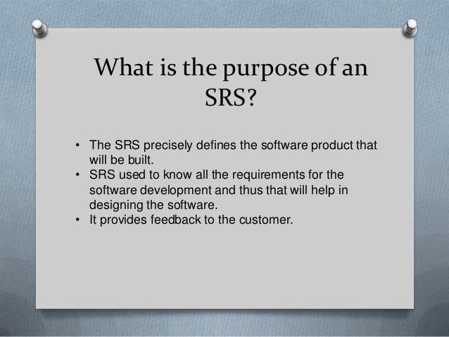 sample srs document for web application