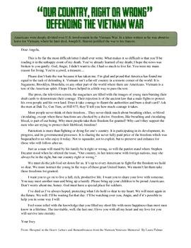 vietnam war primary source document