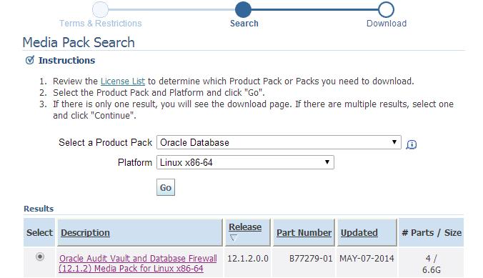 oracle audit vault documentation