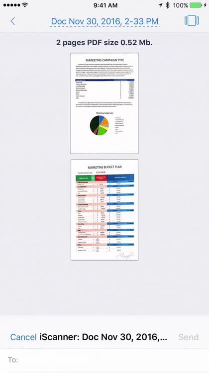 best document scanner app for ipad