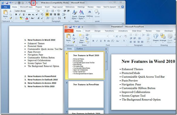 windows 10 word document sliding