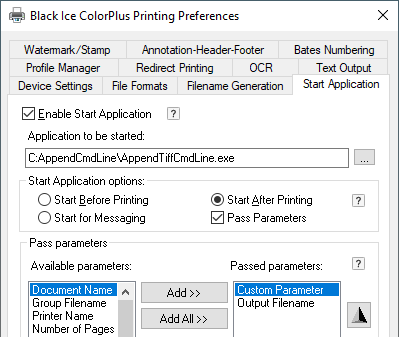 append a file when printing a document mibuso