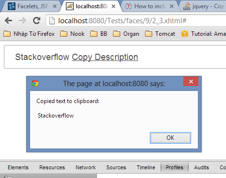 jquery document ready not working