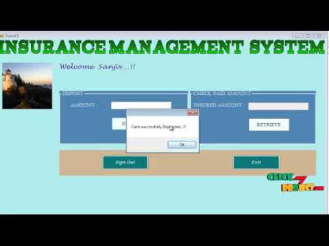 insurance management system project documentation