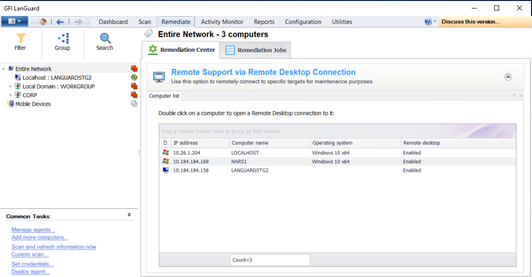 what is microsoft remote document connection
