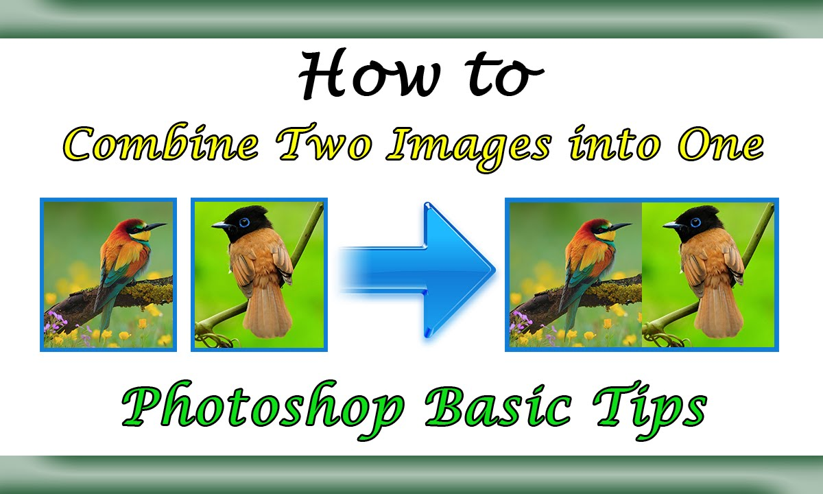 how to combine images into one document