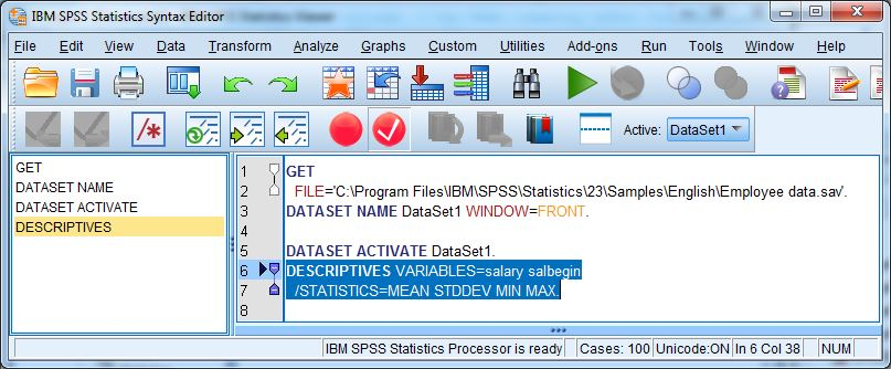 spss cannot save output document
