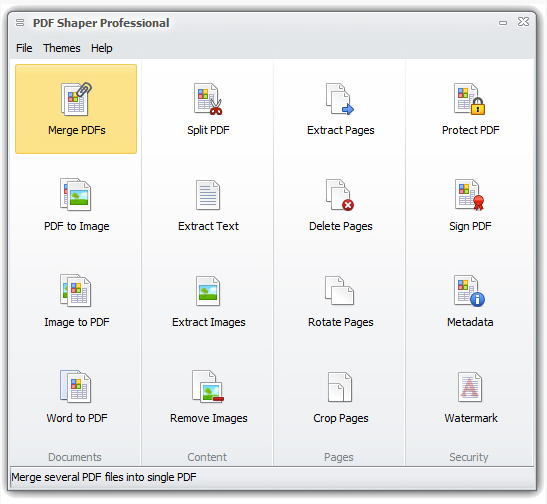 how to split document in adobe acrobat pro cs2