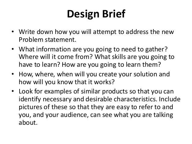 what is design document design brief graphic design