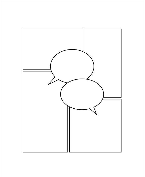 comic strip template word document