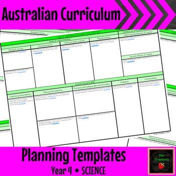australian curriculum documentation in this case