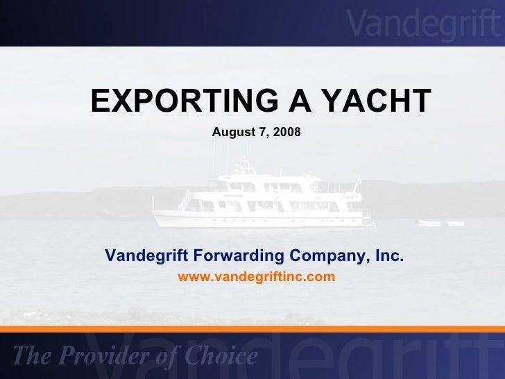 companies that prepare export documentation