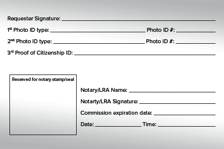 wording for notarizing a document