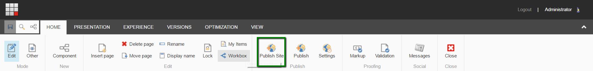 sitecore experience editor documentation