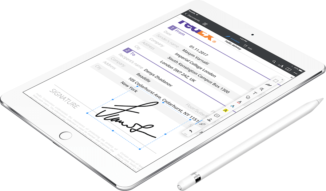 how to electroniallu sign a document