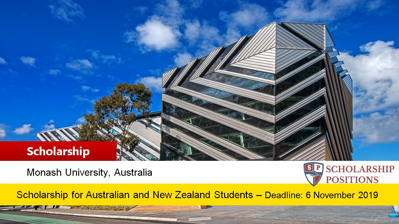 supporting document for scholarships monash