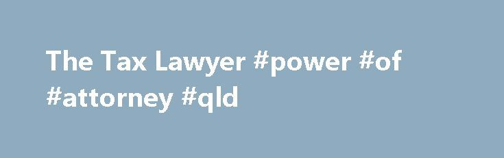 power of attorney document qld