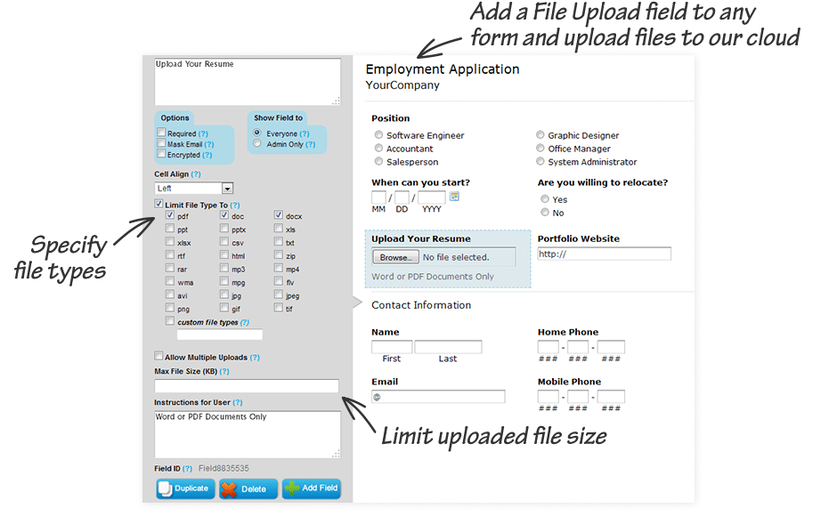 best free online document storage