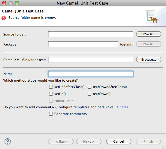 junit test case documentation
