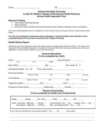 eastern health appraisal document 1