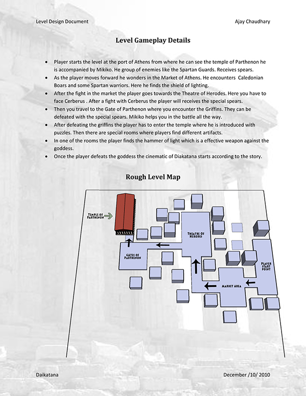 example of a level design document