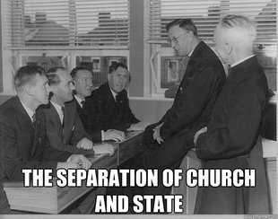 separation of church and state document