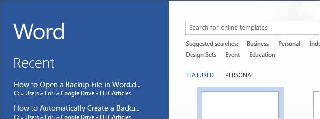 how to get a word document back