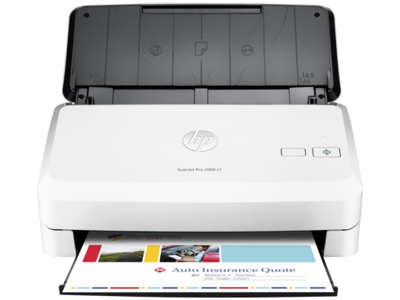 hp scanjet 8270 automatic document feeder not working