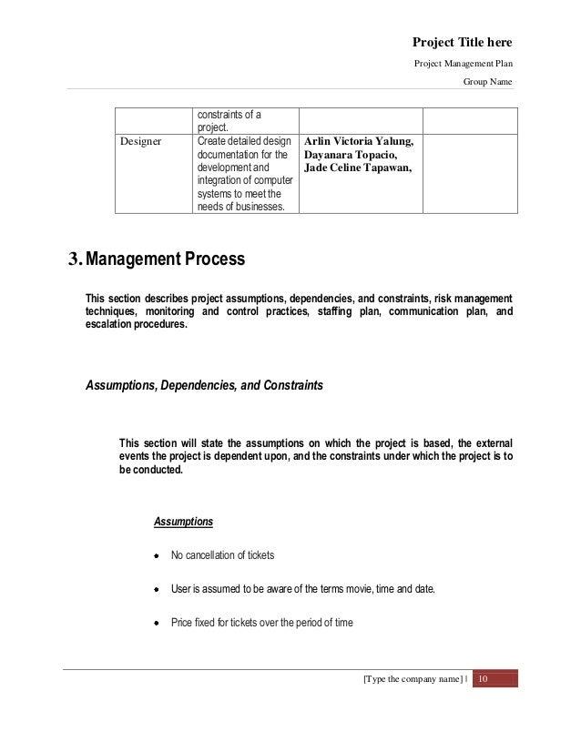 cinema ticketing system documentation