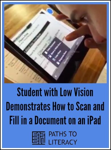 how to scan a document to my ipad