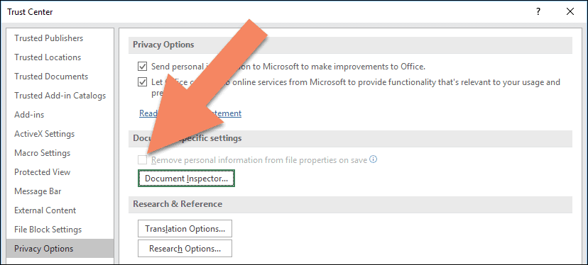 privacy warning this document contains macros activex controls