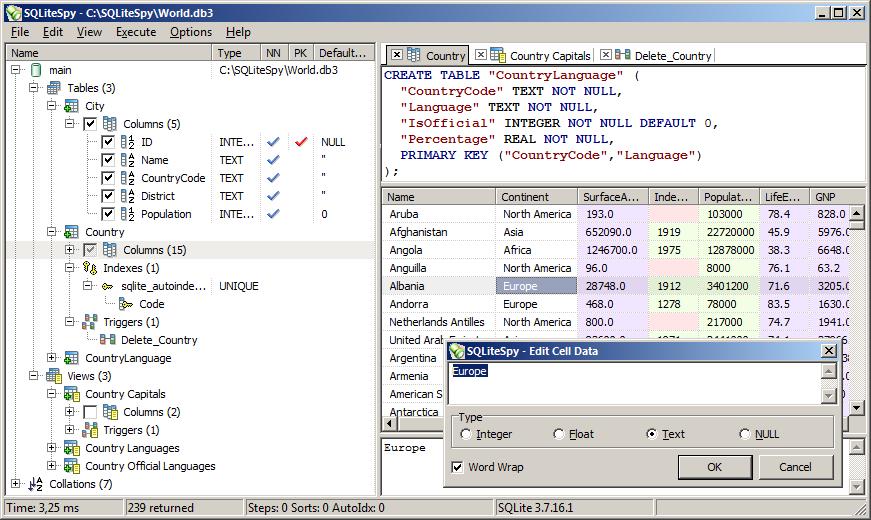 free mysql database documentation tool