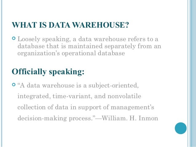 data warehouse project documentation