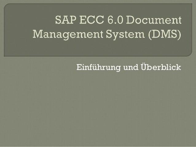 sap document management system dms