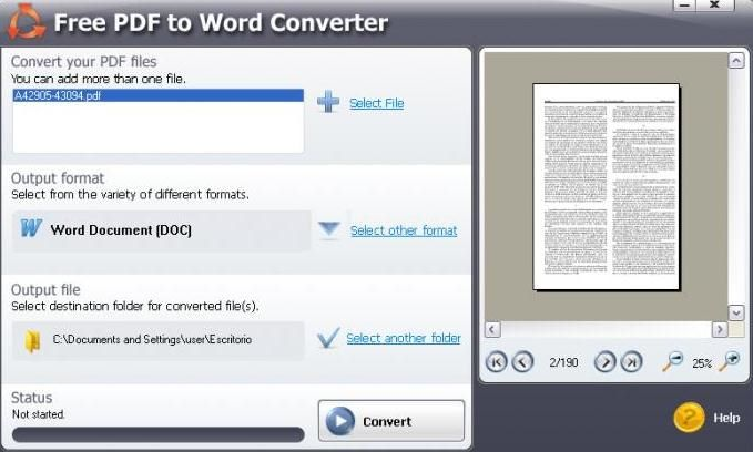 convert word document to adobe pdf