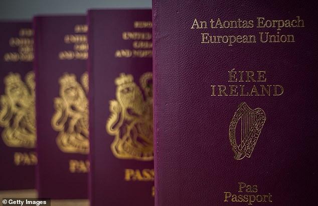 document number on irish passport