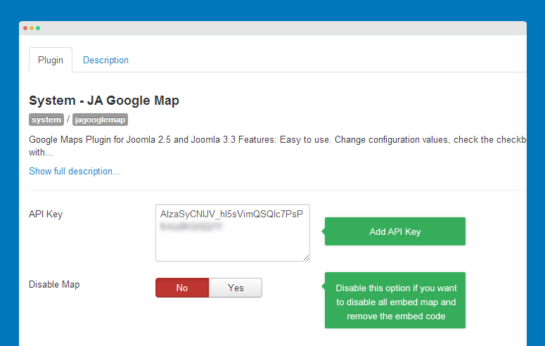 google api documentation template