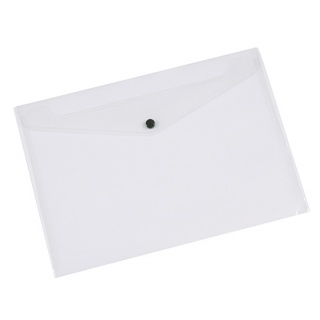 document envelope a4 pp with press stud blue