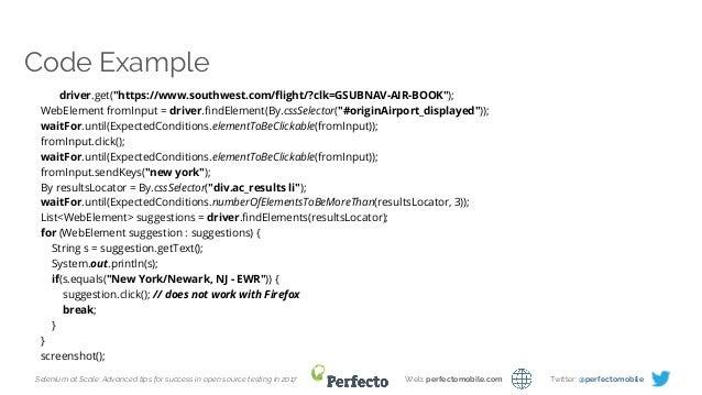selenium documentation 2.0 pdf