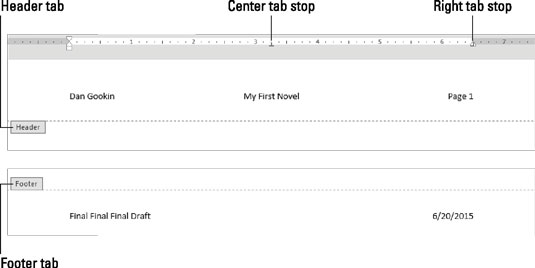 how to add a header to a word document