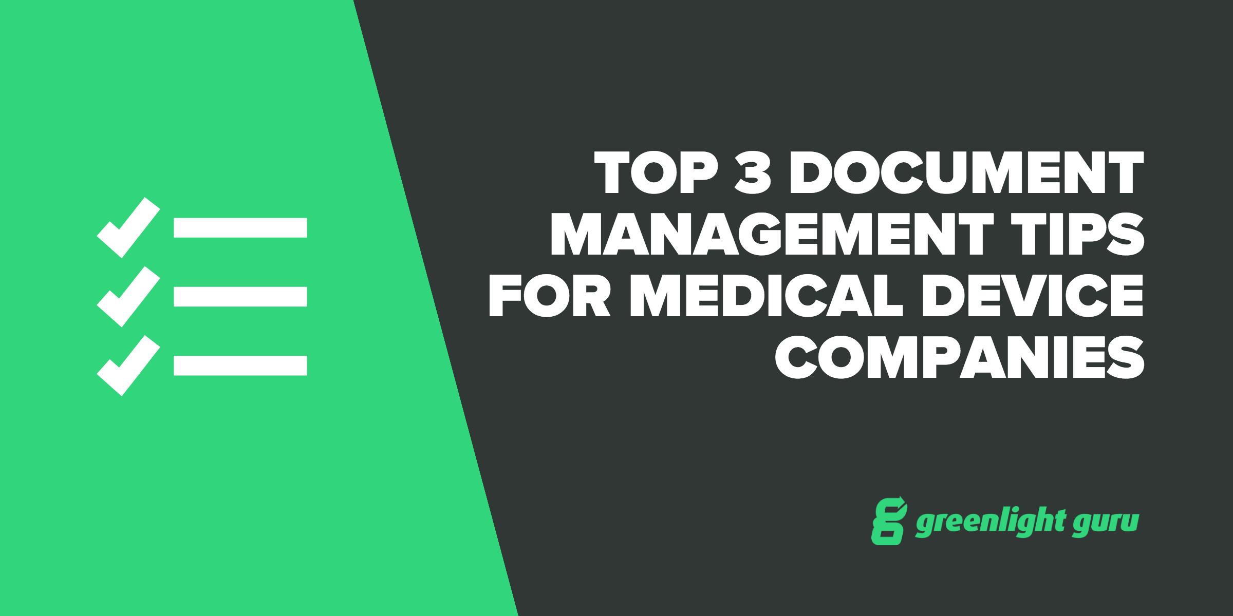 medical electronic document management system